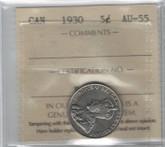 Canada: 1930 5 Cents ICCS AU55