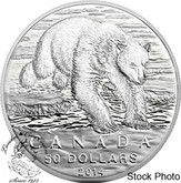 Canada: 2014 $50 The Polar Bear from $50 for $50 Pure Silver Coin