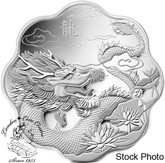 Canada: 2012 $15 Year of the Dragon Lunar Lotus Silver Coin