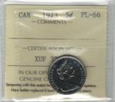 Canada: 1973 5 Cents ICCS PL66