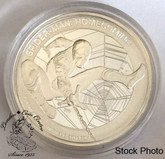 Cook Islands: 2017 $5 Spiderman Homecoming 1 oz. Pure Silver Coin