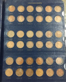 United States: 1909 - 1996 Lincoln Head Cent Collection Includes Better Dates (253 Pieces)