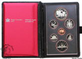Canada: 1981 Train Double Dollar Proof Coin Set