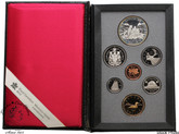 Canada: 1989 MacKenzie Double Dollar Proof Coin Set