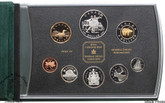 Canada: 2001 Ballet Double Dollar Proof Set