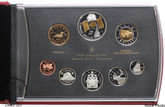 Canada: 2005 Flag Double Dollar Proof Set