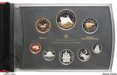 Canada: 2010 100th Anniversary of Canadian Navy Gold Plated Silver Double Dollar Set