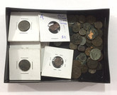 We Choose One Ancient Roman / Greek / Indian Unidentified Coin Low Grade from $10 Box.