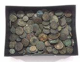 We Choose One Ancient Greek / Roman Unidentified Coin from $25 Box.