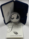 United States: 2018-W 1 Ounce Proof Silver American Eagle