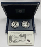 United States: 2013-W 1 Ounce Silver American Eagle 2 Coin Set