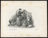 "Canada: The Home Bank of Canada ""Lady and Horse"" Die Proof Vignette on Small Card"