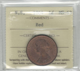 Canada: Nova Scotia: 1864 1 Cent ICCS MS63 Red
