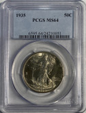 United States: 1935 50 Cent PCGS MS64