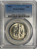 United States: 1935 50 Cent PCGS MS65