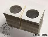 100 x Crown size Cardboard 2.5x2.5 Flips (Holders) (Oversized)
