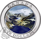Canada: 2003 $20 Natural Wonders - The Rockies Silver Coin