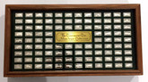 Franklin Mint: The Centennial Car Mini-Ingot Collection Sterling Silver (100 Pieces)