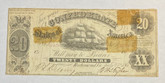 United States: 1861 $20 Confederate States of America Richmond T9