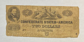 United States: 1862 $2 Confederate States of America Richmond T42