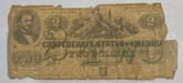 United States: 1862 $2 Confederate States of America Richmond T43