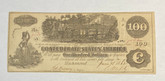 United States: 1862 $100 Confederate States of America Richmond T40 9030