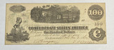 United States: 1862 $100 Confederate States of America Richmond T40 54632