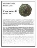 Roman: 337 - 361 AD Constantius II
