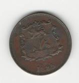 British North Berneo: 1885H 1/2 Cent