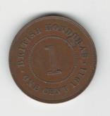 British Honduras: 1911 One Cent