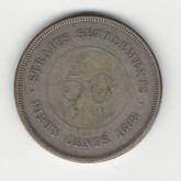 Straits Settlements: 1888 50 Cent