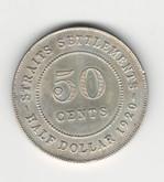 Straits Settlements: 1920 50 Cent