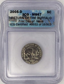 United States: 2005D 5 Cent Nickel ICG MS67