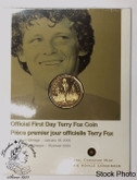 Canada: 2005 $1 Terry Fox First Day Cover