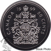 Canada: 1999 50 Cent Proof Like