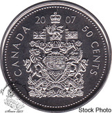 Canada: 2007 50 Cent Logo Proof Like