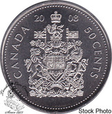 Canada: 2008 50 Cent Logo Proof Like