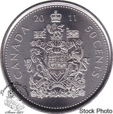 Canada: 2011 50 Cent Logo Proof Like
