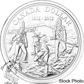 Canada: 2012 $1 BU 200th Anniversary of the War of 1812