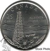 Canada: 2005P 25 Cent Alberta BU