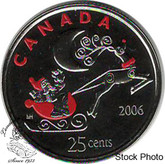 Canada: 2006P 25 Cent Rudolph Proof Like