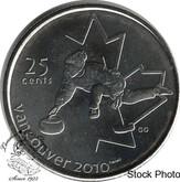 Canada: 2007 25 Cent Curling BU