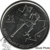 Canada: 2007 25 Cent Ice Hockey BU