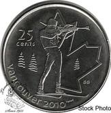 Canada: 2007 25 Cent Biathlon BU