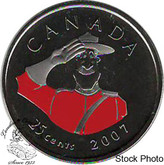 Canada: 2007 25 Cent Mountie Proof Like
