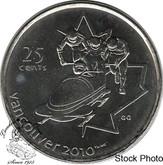 Canada: 2008 25 Cent Bobsleigh BU