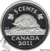 Canada: 2011 5 Cent Proof