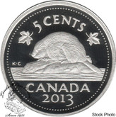 Canada: 2013 5 Cent Silver Proof