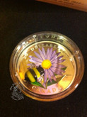 Canada: 2012 $20 Aster with Venetian Glass Bumble Bee Coin