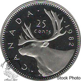 Canada: 1982 25 Cent Proof